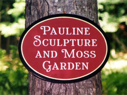 Pauline Sculpture and Moss Garden